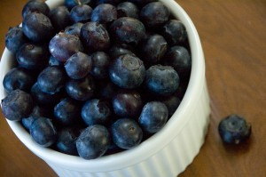 blueberries-in-a-ramekin